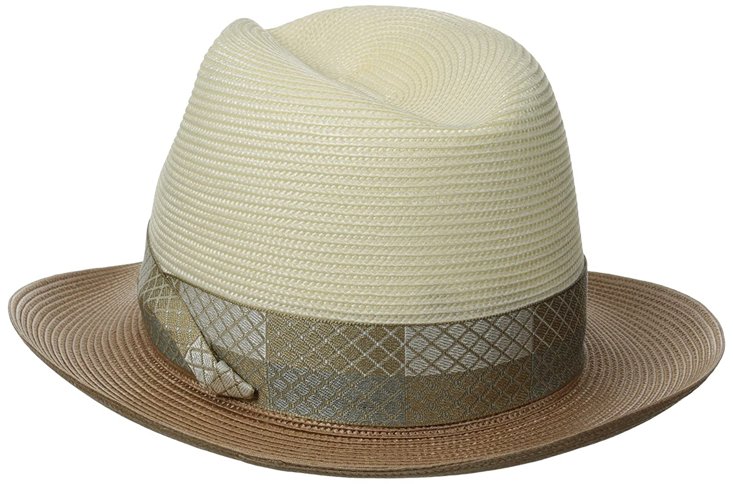 668ad9a4779fde Stetson Men's Andover Florenine Milan Straw Hat at Amazon Men's Clothing  store: