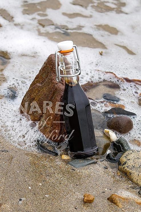 Wares of Knutsford Botella de Vidrio con Tapa oscilante Mini ...