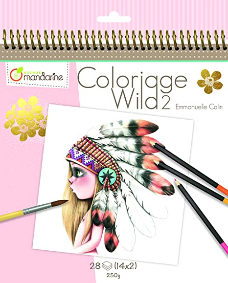 700+ Coloriage Wild Coloring Book Amazon Free Images