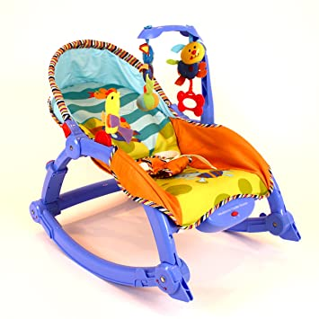baby rocker bouncer chair infant to toddler vibration u0027animal friendsu0027 easy fold-to  sc 1 st  Amazon UK & baby rocker bouncer chair infant to toddler vibration u0027animal ...