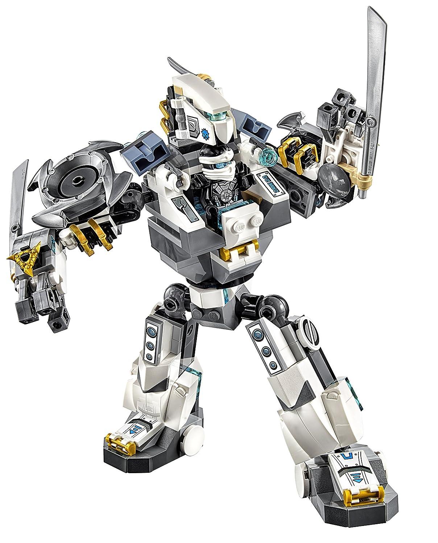 amazoncom lego ninjago 70737 titan mech battle building kit toys games