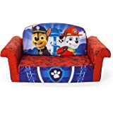 Marshmallow Furniture, Childrenu0027s 2 In 1 Flip Open Foam Sofa, Nickelodeon  Paw Patrol,