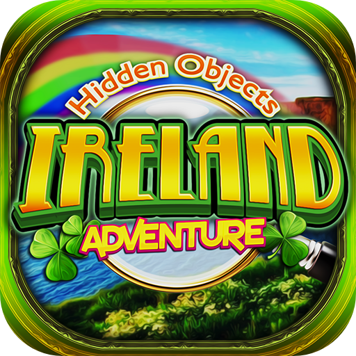 Hidden Objects - Ireland Adventure & St. Patrick's Object Seek Find Puzzle - Ireland Collection
