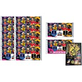 Match Attax 2020-21 Topps Champions League Cards - 70 Card Set (10 Packs & 2 Promo Packs) (Includes LE Gold Haaland Card)