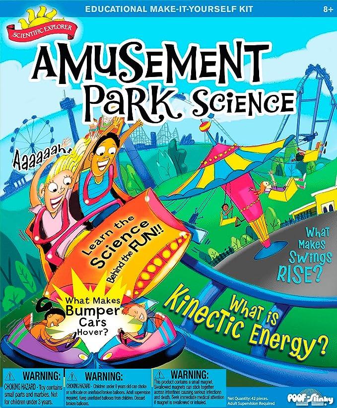 científica Explorer Parque de Atracciones Kit de Ciencia: Amazon.es: Juguetes y juegos
