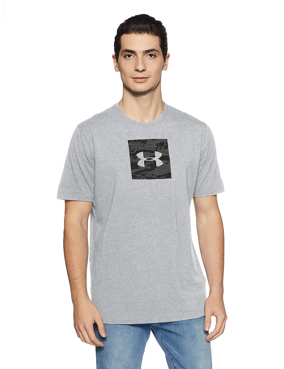 Under Armour Herren Camo Box Logo Short Sleeve T-Shirt