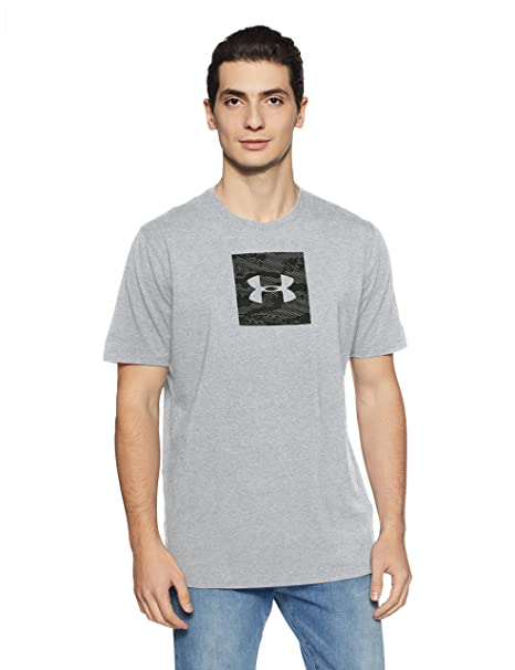 36cf66b92d Under Armor Men's Camo Boxed Logo T-Shirt