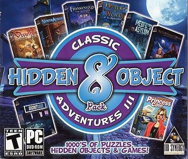 Amazon Com Frankenstein The Village Hidden Object 8 Pack Classic Adventures Iii Pc Game Dvd Rom Video Games
