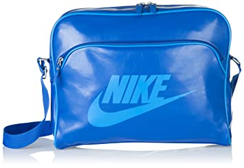 4b0ab93e1fbb NIKE BAG HERITAGE SI TRACK - Color  Blue - MISC  Amazon.co.uk ...