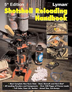 Lyman Shotshell Handbook 5Th Edition Review