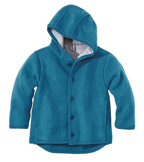 Disana 32302 x x - Giacca in lana cotta blu  Amazon.it  Abbigliamento 068d194dd36