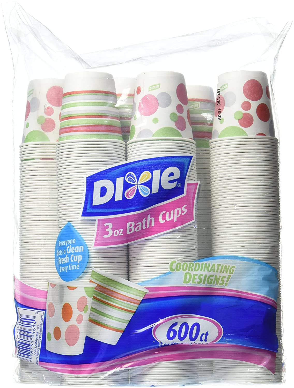Dixie Bath Cups Coordinating Designs Individual Kitchen