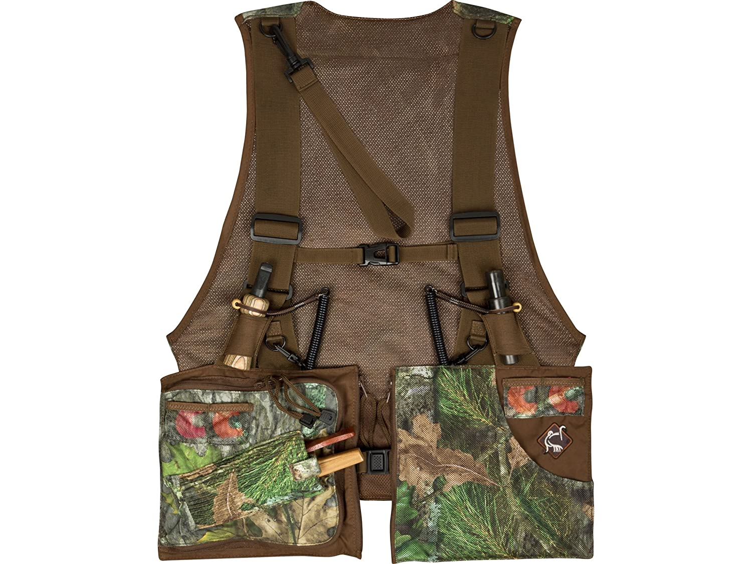 6d7f355d0304c Amazon.com: Ol39;Tom Time and Motion Essentials Vest 2.0 Bottomland One  Size Fits Most: Sports & Outdoors