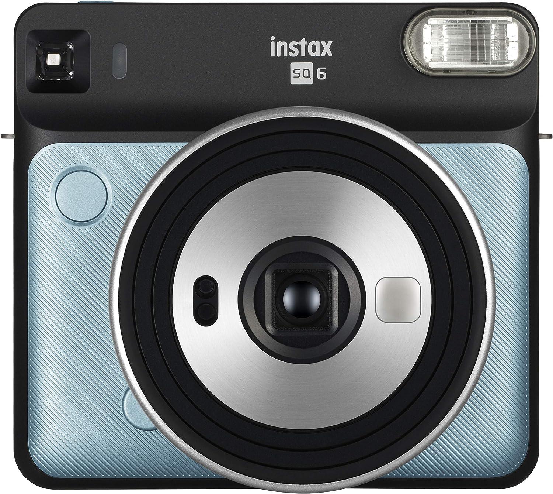 Fujifilm Instax Sq 6 Ex D Sofortbildkamera Aqua Blau Kamera