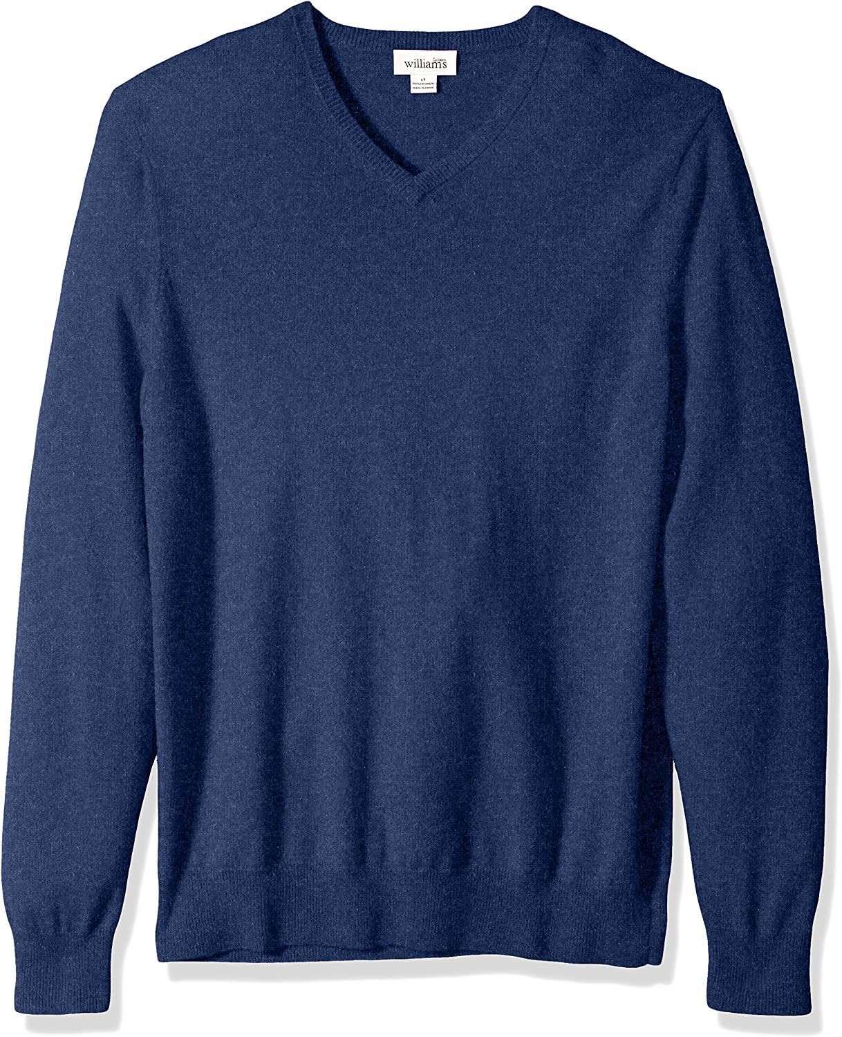 Williams Cashmere Mens 100/% Cashmere Big-Tall Crew Neck Sweater
