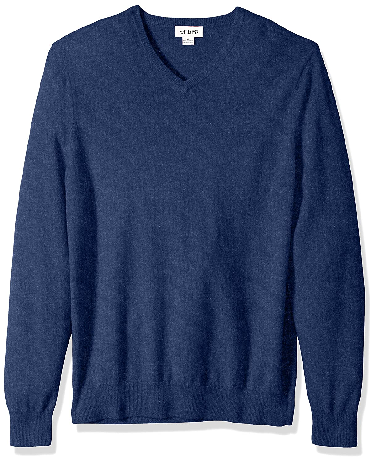 Williams Cashmere Men's 100% Big-Tall V-Neck Sweater SCM96-AM-BT