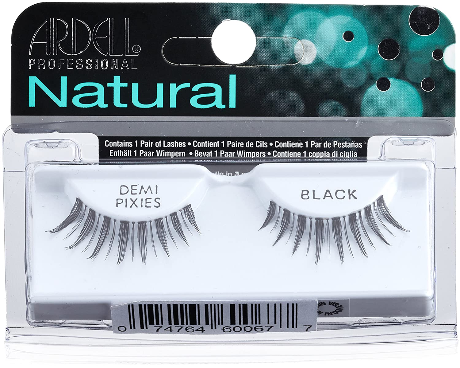 471c06fc579 Amazon.com : Ardell Natural Lashes, Demi Pixies Black : Fake Eyelashes And  Adhesives : Beauty
