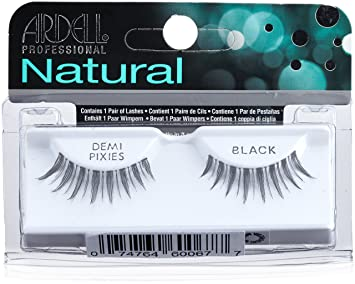 7461b20addc Amazon.com : Ardell Natural Lashes, Demi Pixies Black : Fake Eyelashes And  Adhesives : Beauty