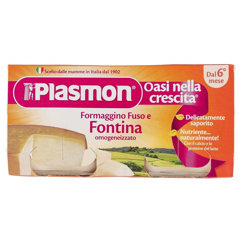 Omogeneizzato Formaggino Fontina 80 Gr X 2 Pezzi PLASMON 70053900