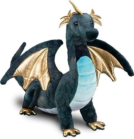 Douglas Aragon Navy Dragon Plush Stuffed Animal