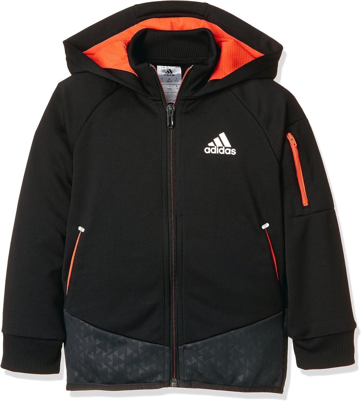 adidas Jungen Football Track Jacke Kapuzenjacke: