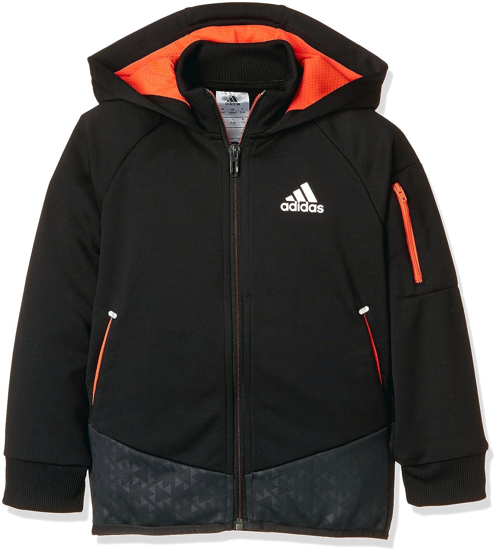 Adidas Football Track Jacke Jungen Kapuzenjacke