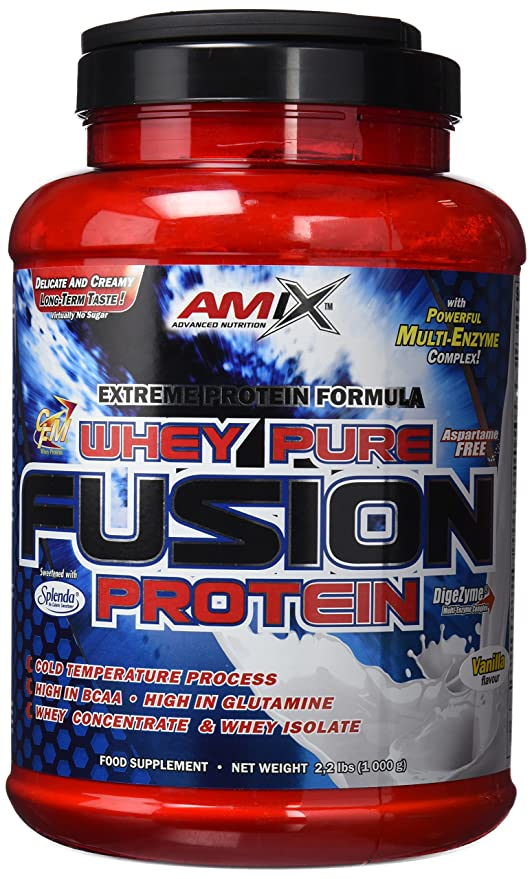Amix Whey Pure Fusion, Proteínas, 1000 gr