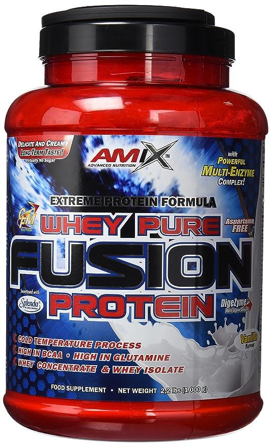 Amix Whey Pure Fusion, Proteínas, 1000 gr: Amazon.es: Salud y cuidado personal