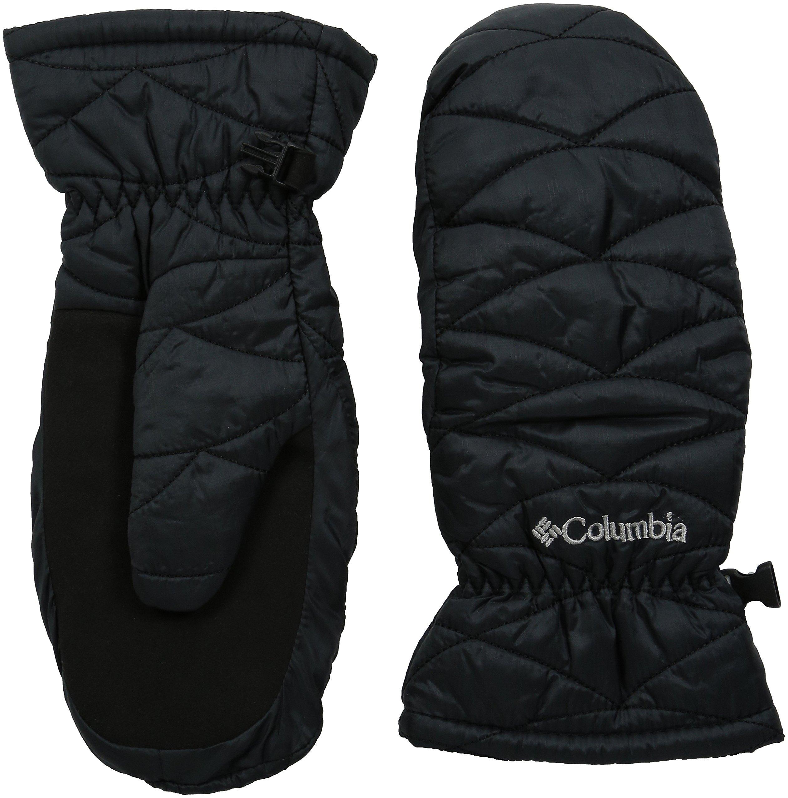 Columbia Sportswear Women's Mighty Lite Mitten, Black, Large
