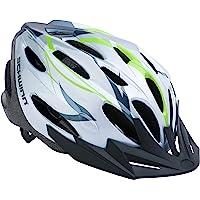 Schwinn Traveler Casco de Adulto para Bicicleta Blanco y Verde