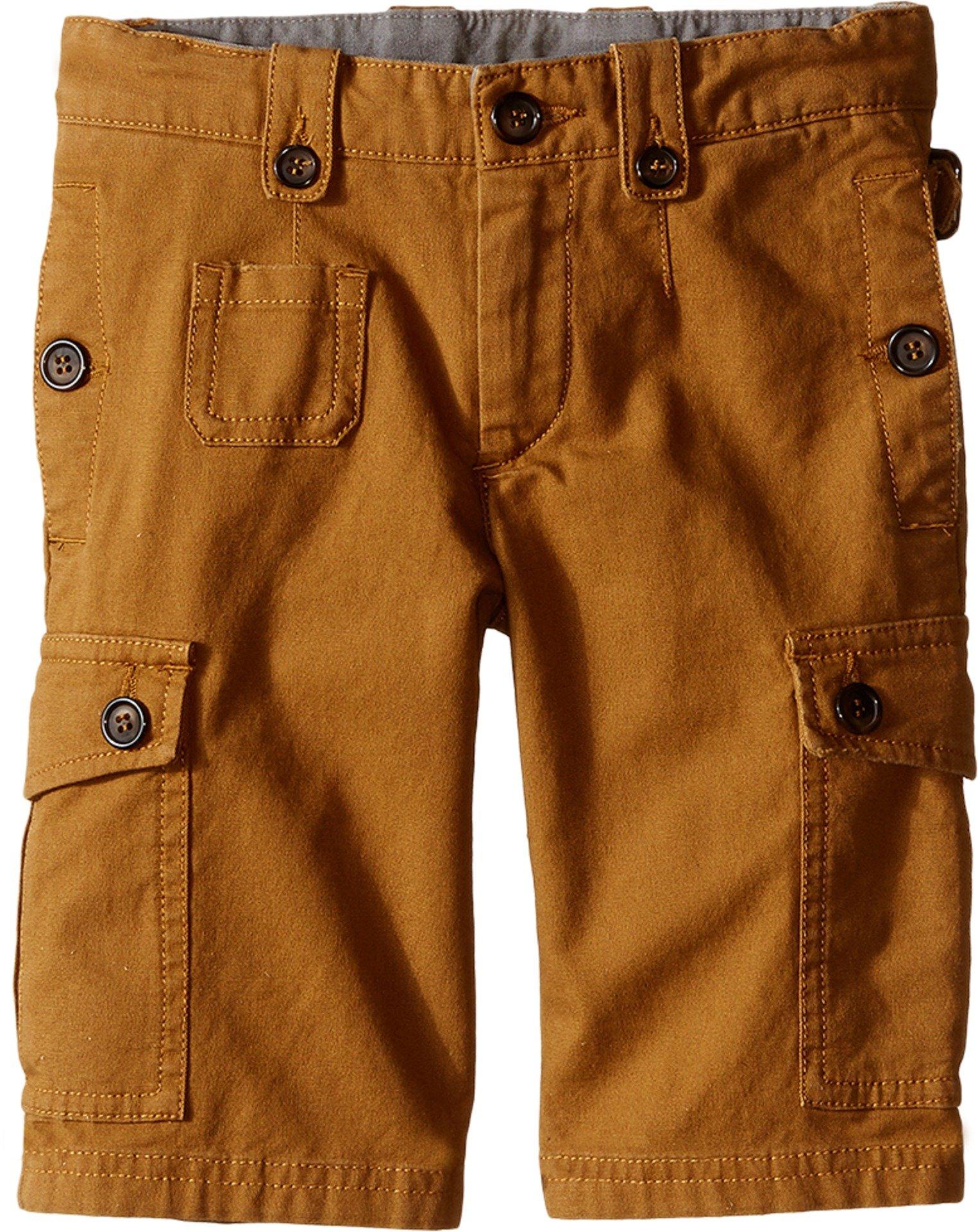 Dolce & Gabbana Kids Baby Boy's Cargo Shorts (Toddler/Little Kids) Rust Brown 5 (Little Kids) X One Size by Dolce & Gabbana