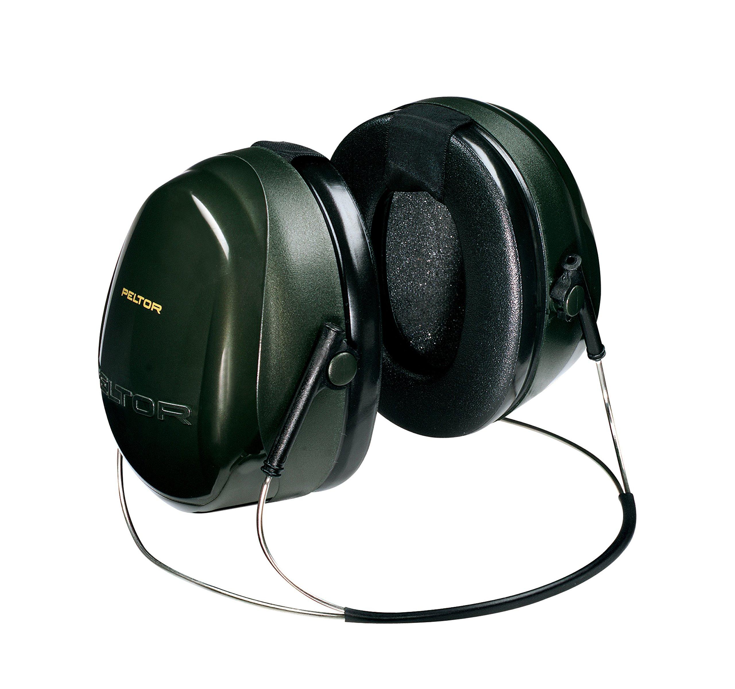 3M Peltor Optime 101 Behind-the-Head Earmuff, Hearing Protection, Ear Protectors, NRR 26 dB