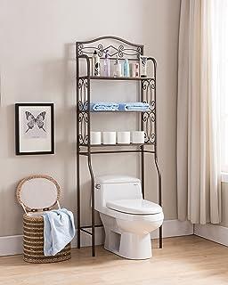 Amazon.com: Best Living Monaco Bathroom Space Saver Etagere Shelf ...