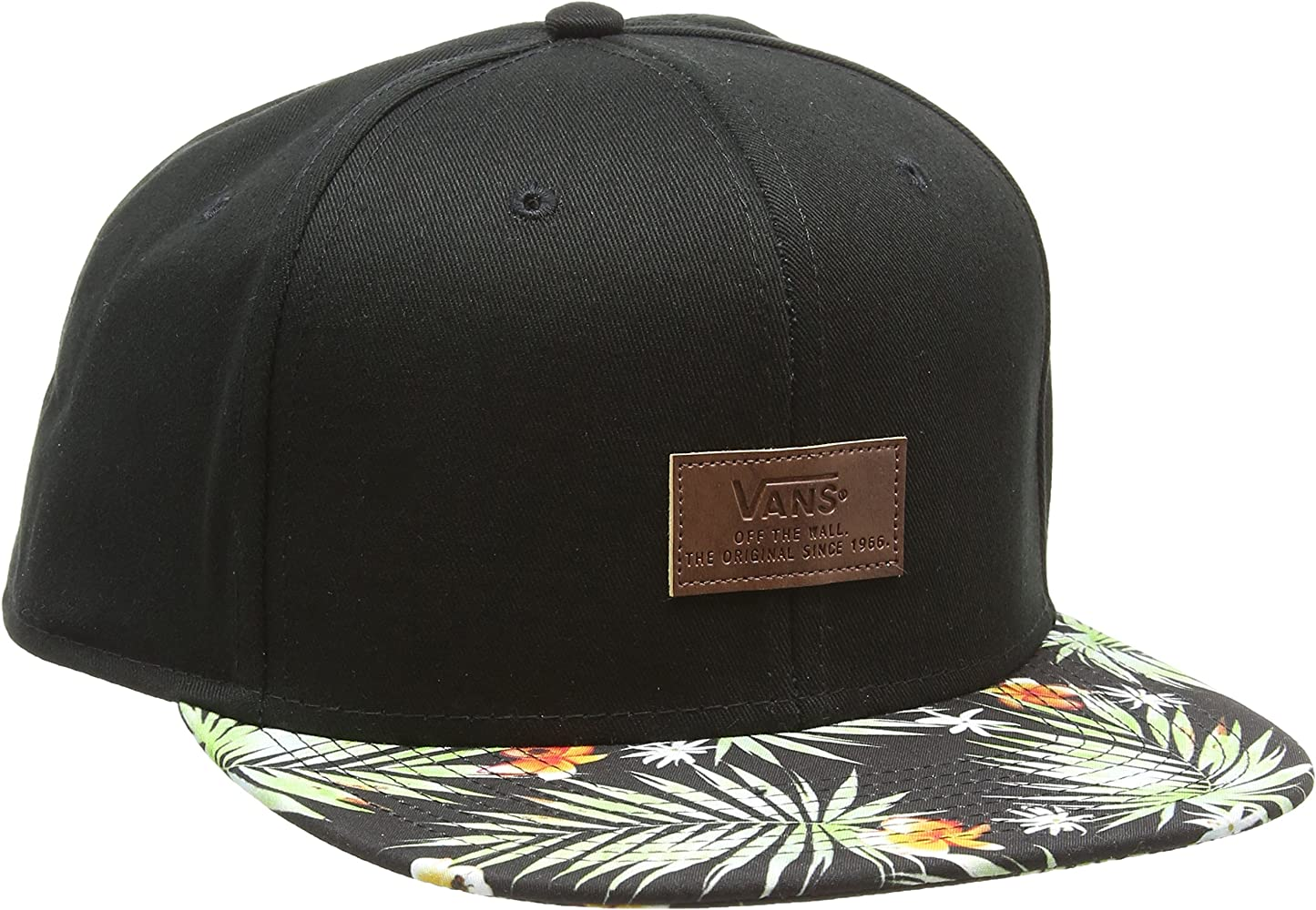 Vans Allover It Gorra de béisbol, Multicolor (Black Decay Palm Kvr ...