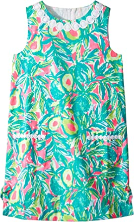 90638fe89aa Lilly Pulitzer Kids Baby Girl s Lilly Classic Shift Dress (Toddler Little  Kids Big