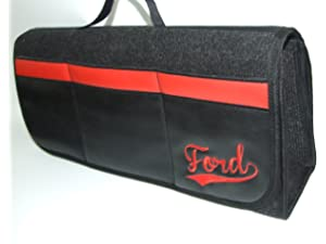 Fits all Models Van Leather Boot Tidy Organiser Ford Car