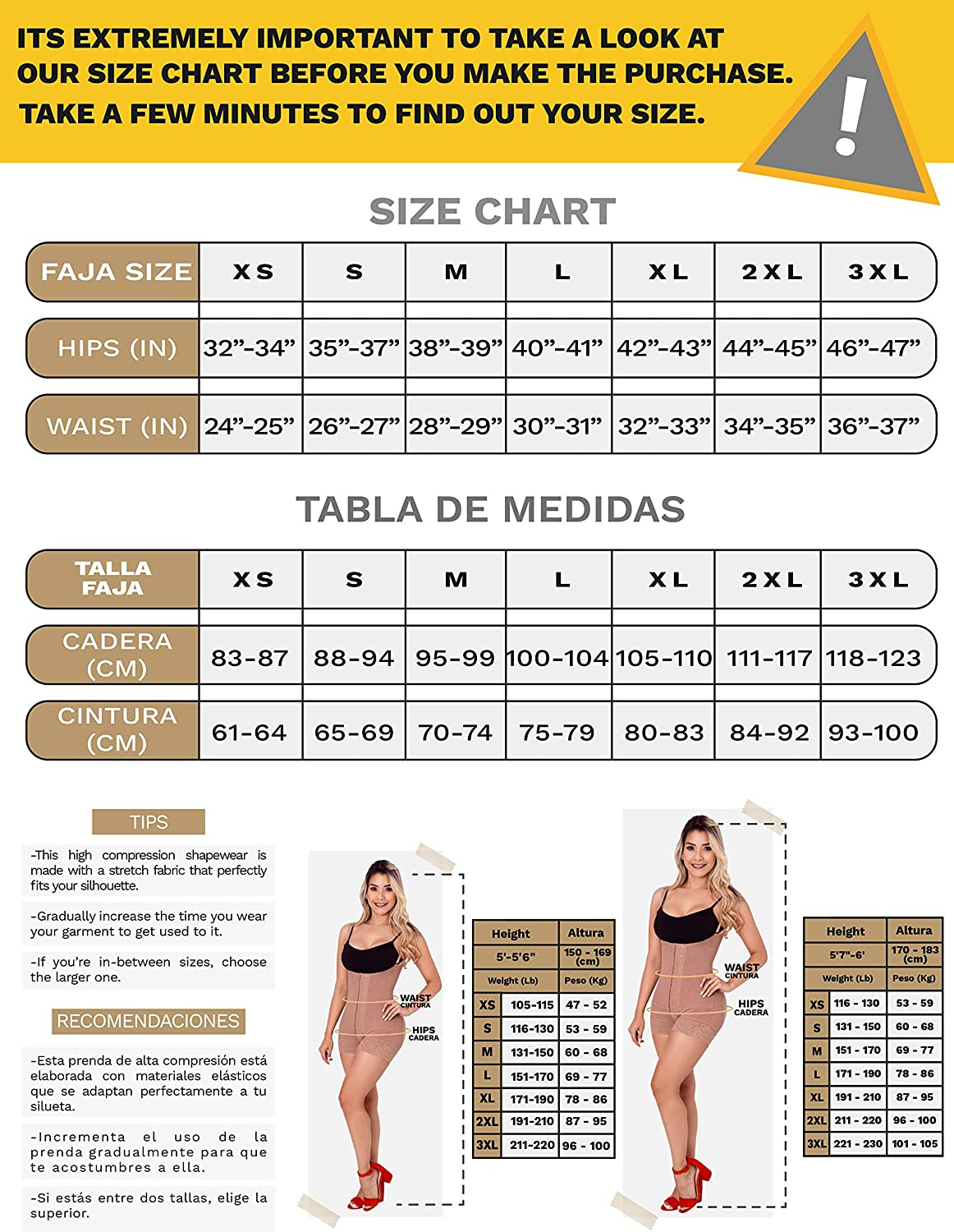 SONRYSE 086 Women Slimming Bra Shapewear Body Shaper l Fajas Colombianas