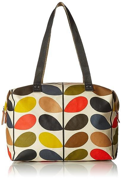 e5ff65fc6 Orla Kiely Multi Stem Zip Shopper Shoulder Bag, Multi, One Size: Amazon.ca:  Clothing & Accessories