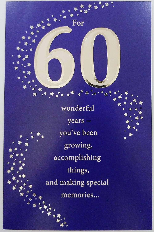Para 60 años maravillosos - Happy 60th Tarjeta de ...