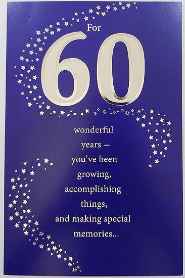 Amazon.com: Para 60 años maravillosos – Happy 60th ...