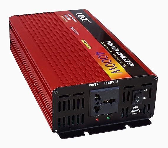 4000W Inversor de corriente de 12v a 220v Inversor 4000w 12v 220v ...