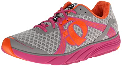 Pearl Izumi - Run Women's EM Road H 3 Running Shoe,Grey/Raspberry Rose