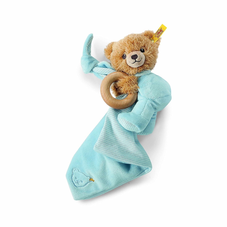 Steiff 240102 - Schlaf Gut Baer 16 3 in 1, blau Teddys