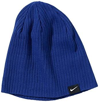Nike Knitted Beanie Lightweight Rib blue Deep Royal Blue Size One Size 5ea7d45a723