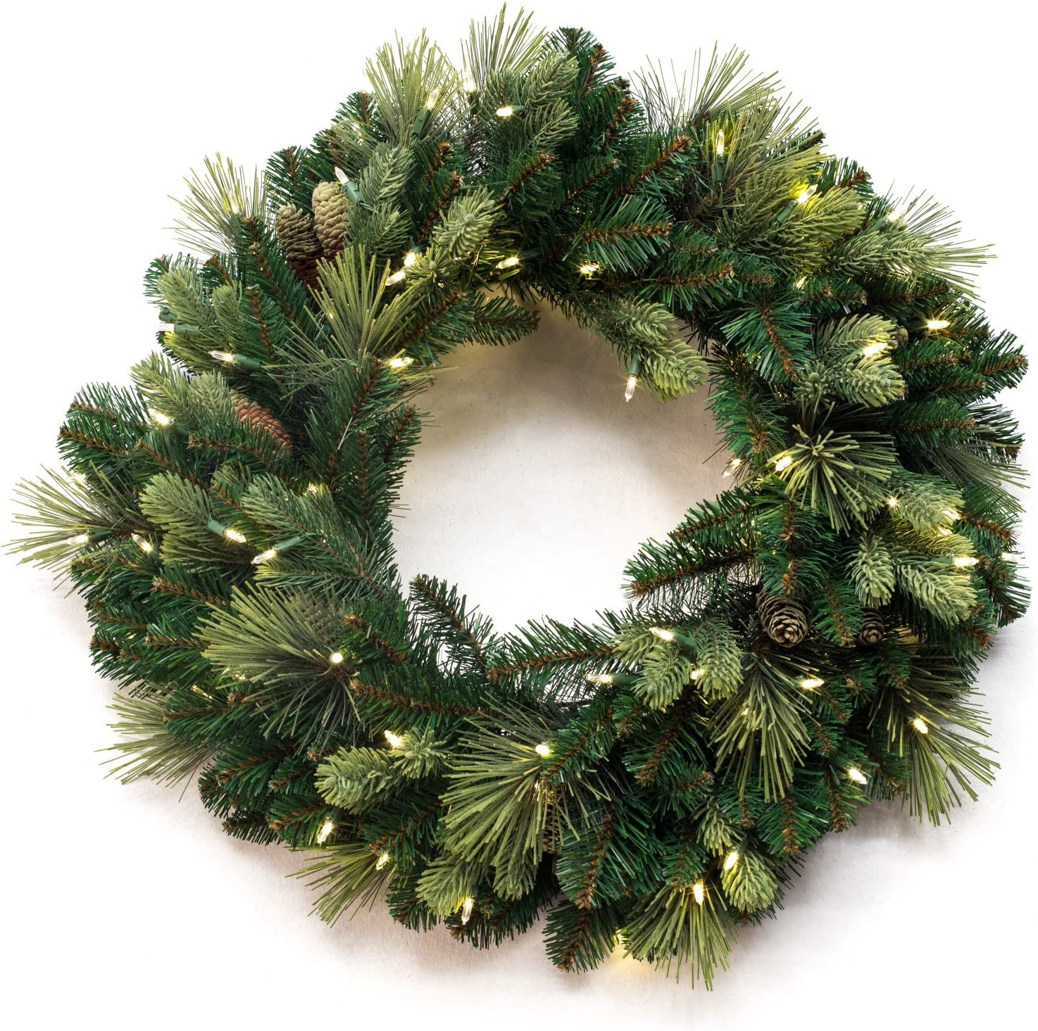 30 Inch National Tree Carolina Pine Wreath