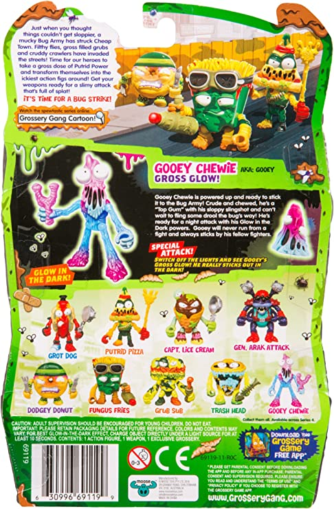 Grossery Gang S4 Bug Strike Action Figure-Gooey Chewie