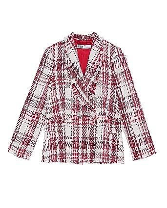 factory vaste gamme de info pour Zara Femme Veste en Tweed avec Bouton en Perle 2135/614 ...