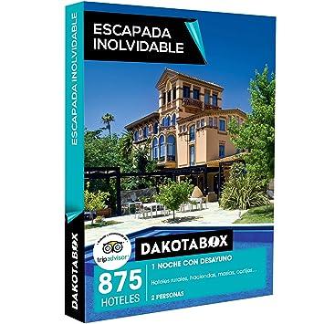 DAKOTABOX - Caja Regalo-ESCAPADA INOLVIDABLE - 875 hoteles rurales, haciendas, masías y