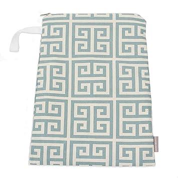 1d2779be87fa Logan + Lenora Classic Wet Bag - Medium Cloth Diaper Wet Bag - Beach