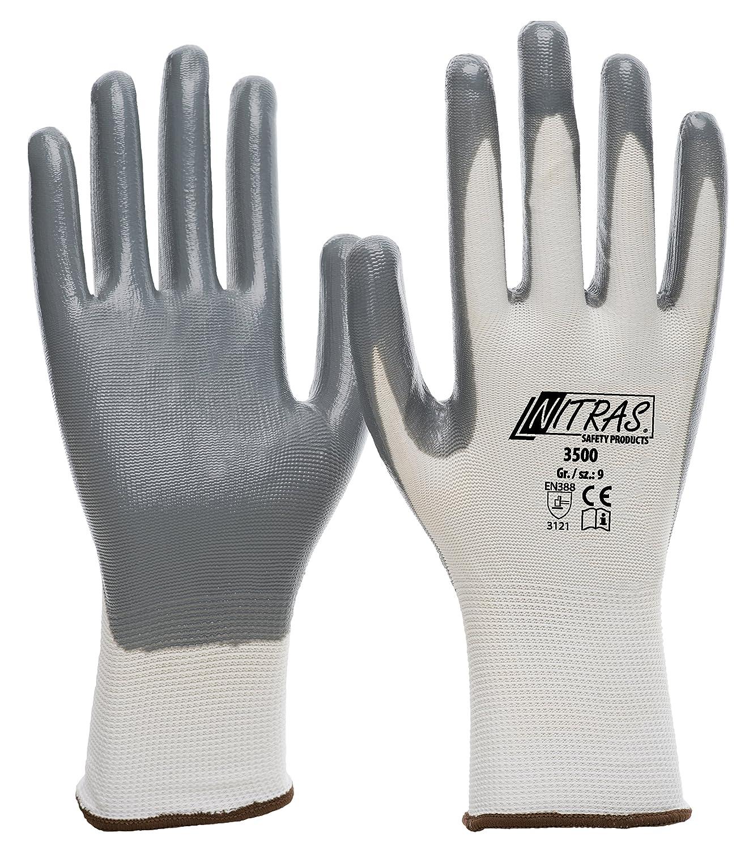 144 Paar NITRAS-Nylon-Nitril-Handschuh 8 Grösse 8
